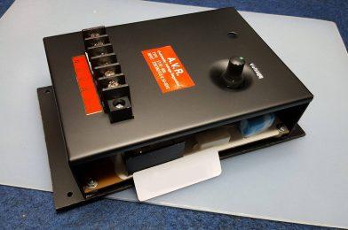 Prinsip Kerja AVR Generator Pada Sistem Self-Excited Generator